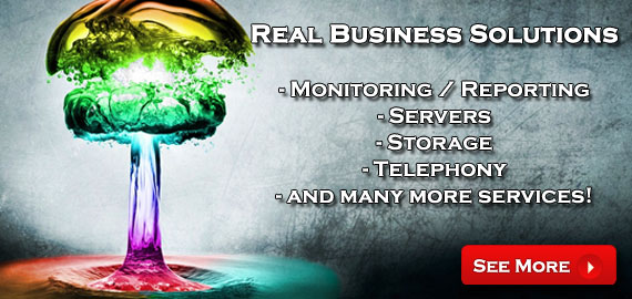 Real Business Solutions - Monitoring / Reporting, Servers, Storage, Telephony, and more!