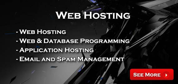 Pure Profit Hosting - Web Hosting, Web and Application Programming, Application Hosting, Email and Spam Management
